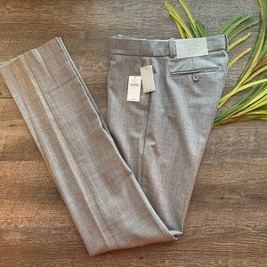 GAP True Straight Gray Wool Blend Career Pants